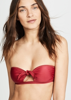 ViX Swimwear Cutout Bandeau Bikini Top