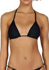 ViX Swimwear Ella Beaded Triangle Bikini Top