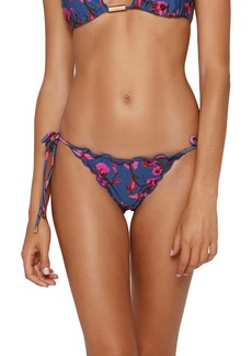 ViX Swimwear Fiore Ripple Bikini Bottoms