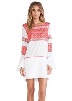 Vix Swimwear Kilim Embroidered Short Dress