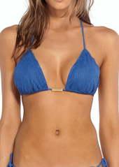 ViX Swimwear Klein Scales Triangle Bikini Top