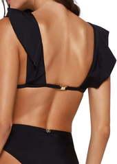 ViX Swimwear Liz Flutter Sleeve Bikini Top
