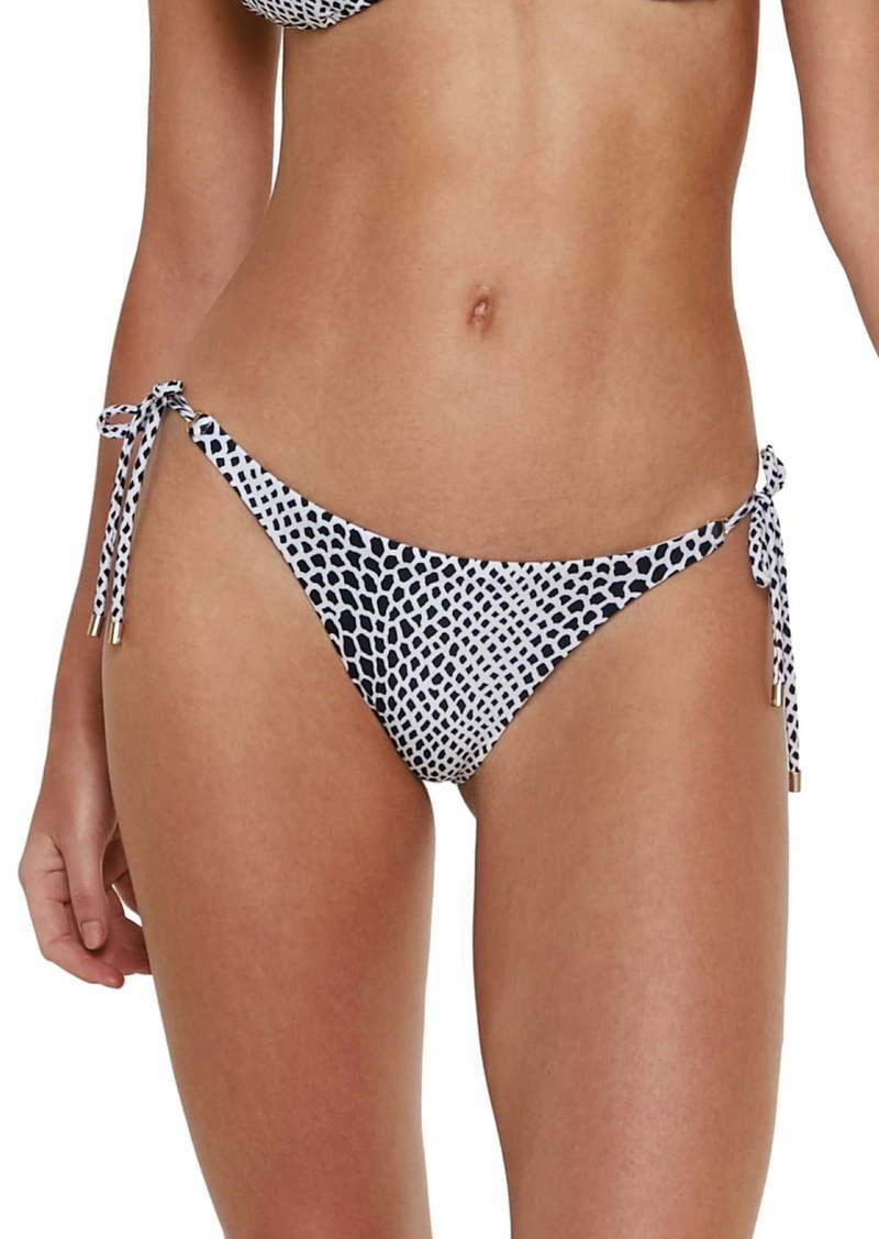 ViX Swimwear Lizard Side Tie Bikini Bottoms