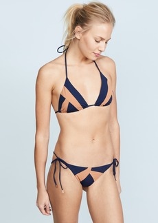 ViX Swimwear Midnight Wave Triangle Top