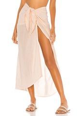Vix Swimwear Ruffle Pareo Skirt