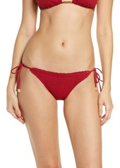ViX Swimwear Scales Side Tie Bikini Bottoms