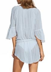 ViX Swimwear Smoke Blue Cover-Up Tunic