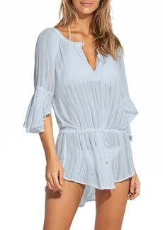 ViX Swimwear Smoke Blue Cover-Up Tunic