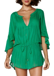 ViX Swimwear Sprite Chemise Tunic Cover-Up