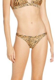 ViX Swimwear Tiger Print Cheeky Bikini Bottoms