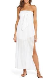 Vix Tess Strapless Coverup Dress