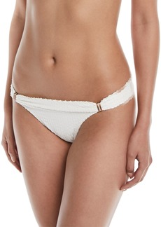 Vix White Scales Bia Tube Hipster Swim Bikini Bottoms