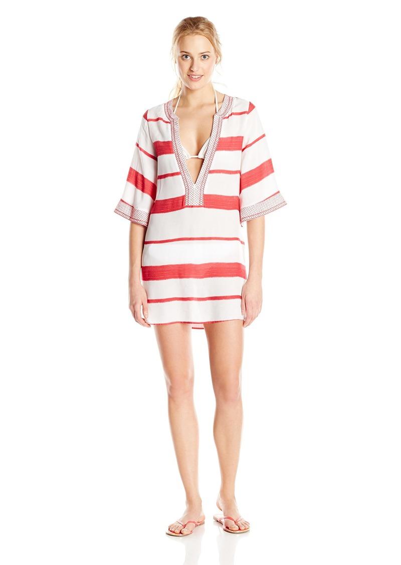 ViX Women's Desert Helen Stripe Cover-Up Tunic