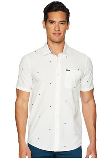 Volcom Bleeker Short Sleeve Woven Top