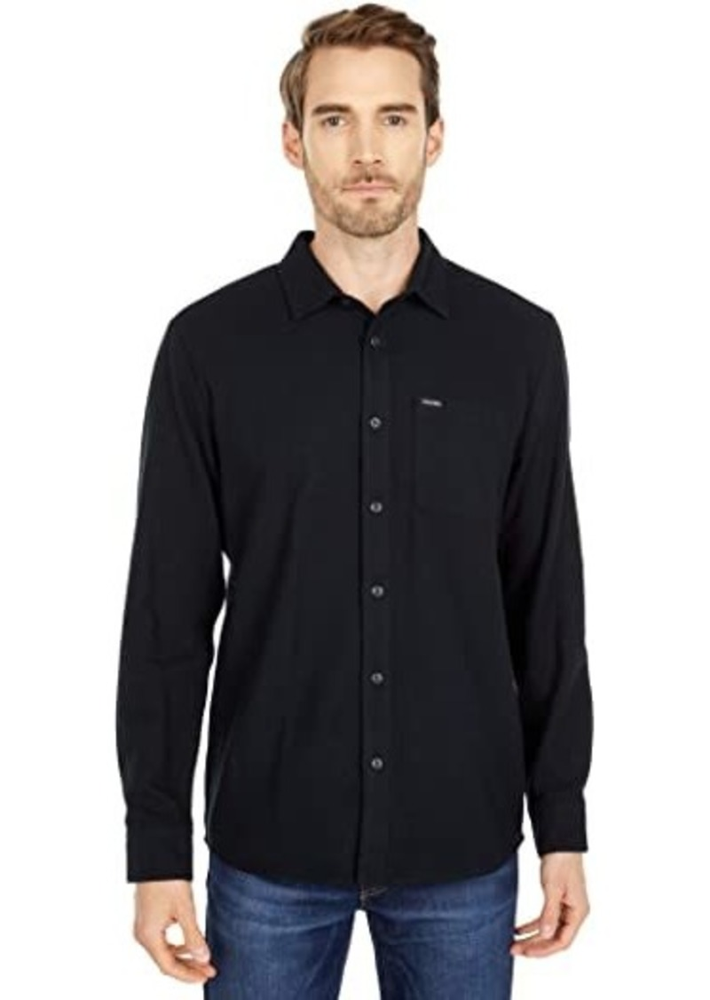Volcom Caden Solid Long Sleeve Button-Up