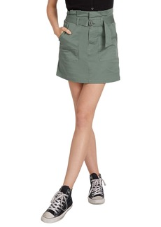Volcom Chickie Belted Skirt