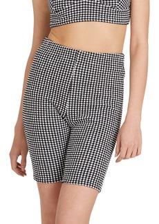 Volcom Coco Gingham Bike Shorts