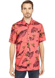 Volcom Floral Erupter Short Sleeve Button-Up