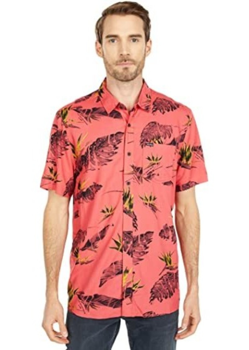 Volcom Floral Erupter Short Sleeve Button-Up