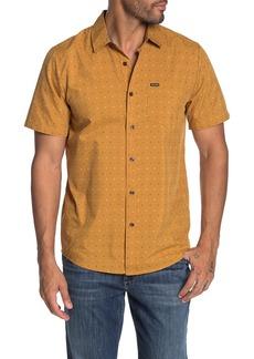 Volcom Frequency Dot Print Short Sleeve Modern Fit Shirt