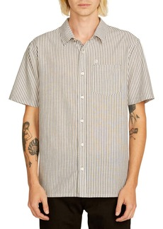 Volcom Kramer Striped Short Sleeve Shirt