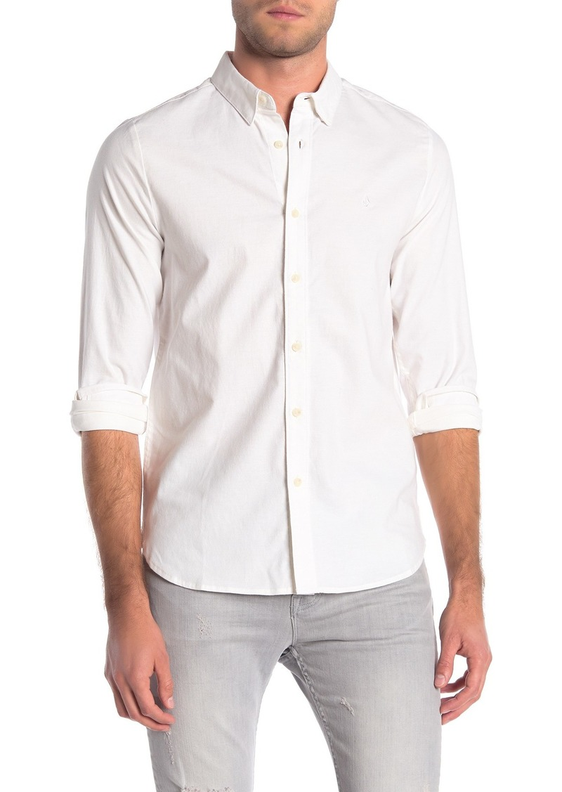 Volcom Long Sleeve Oxford Shirt