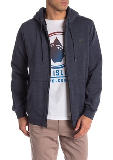 Volcom Loyal Lined Zip Faux Fur Lined Jacket