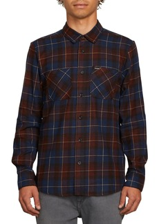 Volcom Lumberg Slim Fit Flannel Woven Shirt