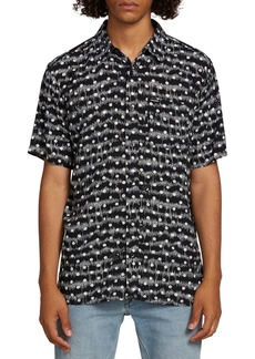 Volcom Mag Sketch Woven Slim Fit Shirt