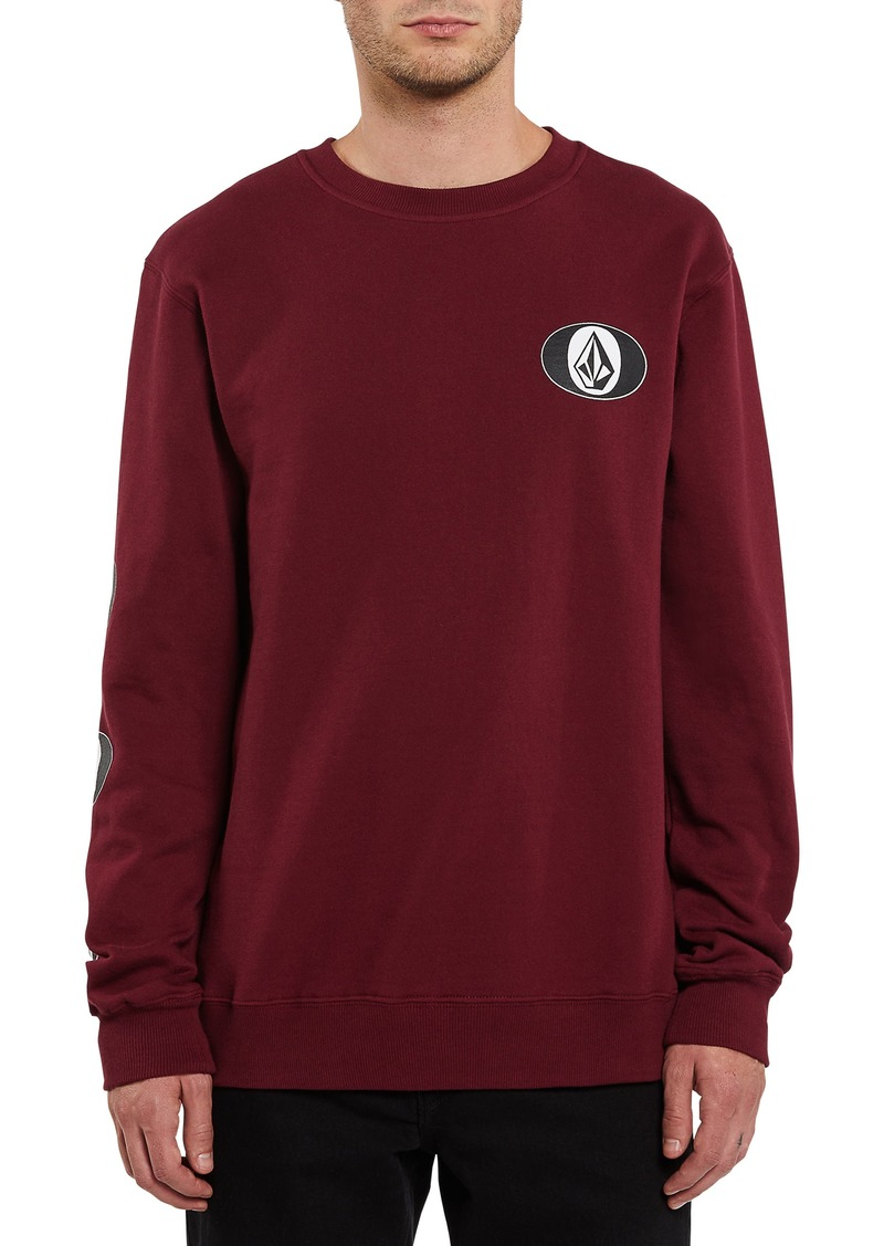Men's Volcom Stone Stack Crewneck Sweatshirt