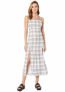 Volcom Plaid Taste Dress