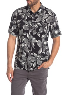 Volcom Resorto Vallarta Floral Short Sleeve Classic Fit Shirt
