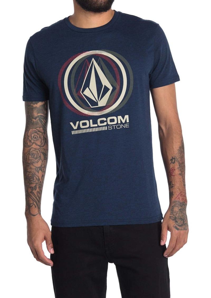 Volcom Sedated Logo Heathered T-Shirt