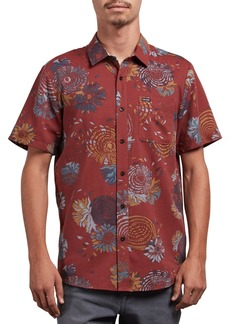 Volcom Stoney Delusion Short Sleeve Slim Fit Shirt