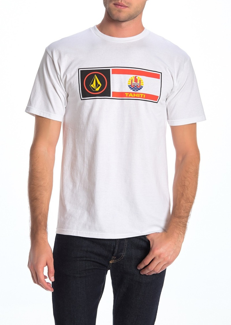 Volcom Tahiti Flag Short Sleeve T-Shirt
