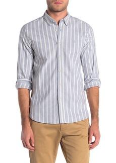 Volcom Vertical Stripe Regular Fit Shirt