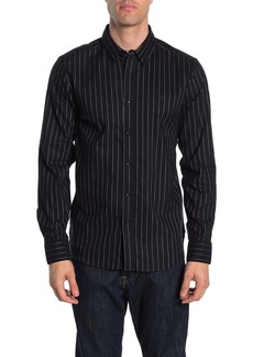 Volcom Vertical Stripe Regular Fit Shirt