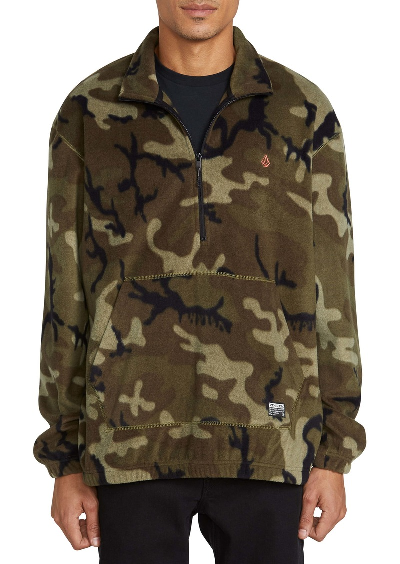 Volcom Atavic Half Zip Fleece Pullover