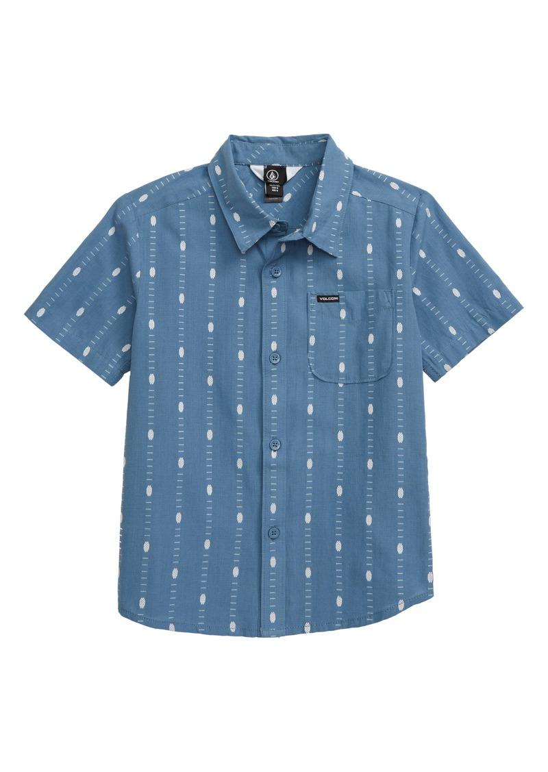Volcom Bonga Stripe Button-Up Shirt (Toddler Boys & Little Boys)