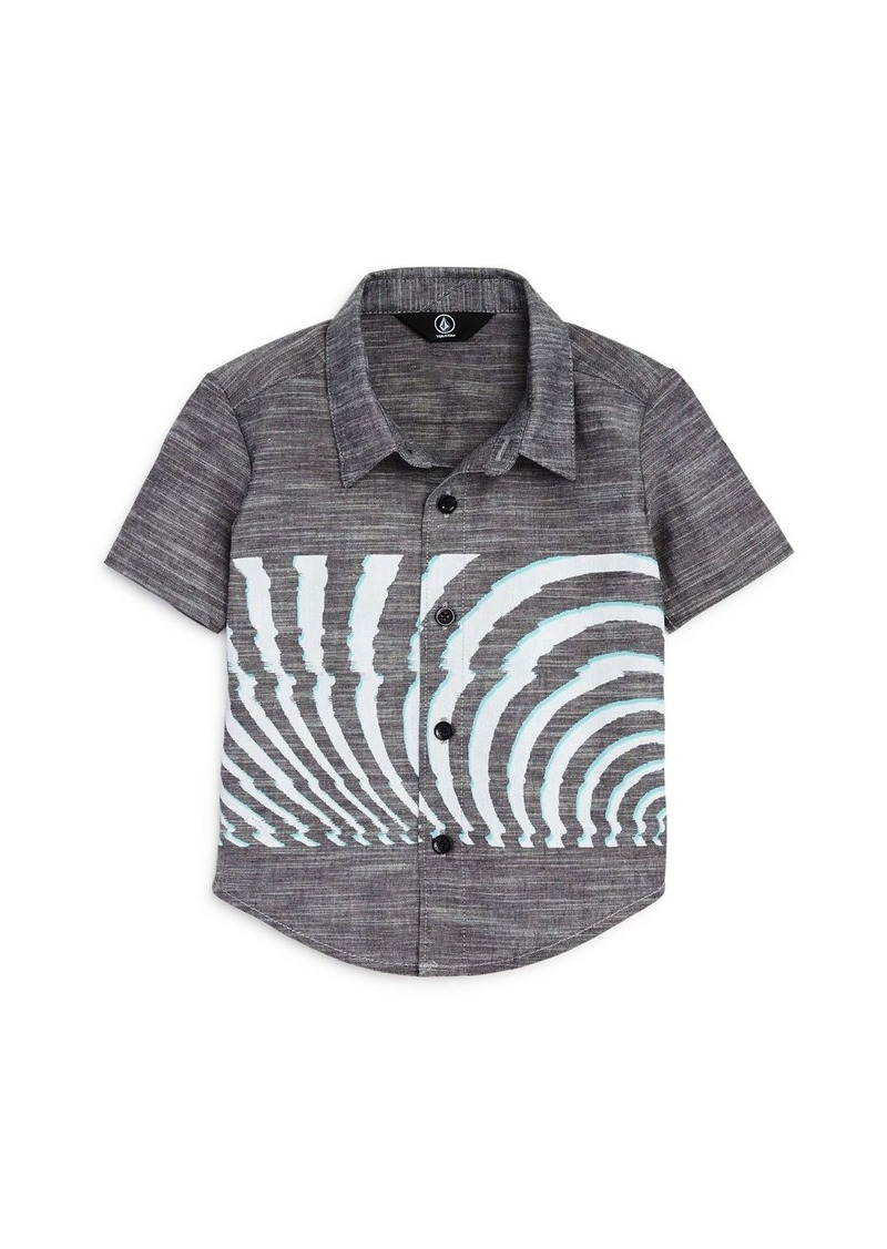Volcom Boys' Blocked Short Sleeve Shirt - Big Kid