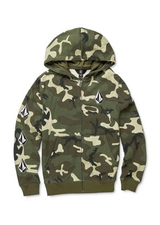 Volcom Boys' Deadly Stones Camo Print Hoodie - Big Kid