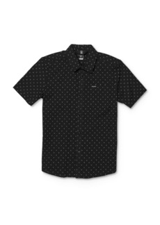 Volcom Boys' Newmark Camp Shirt - Big Kid