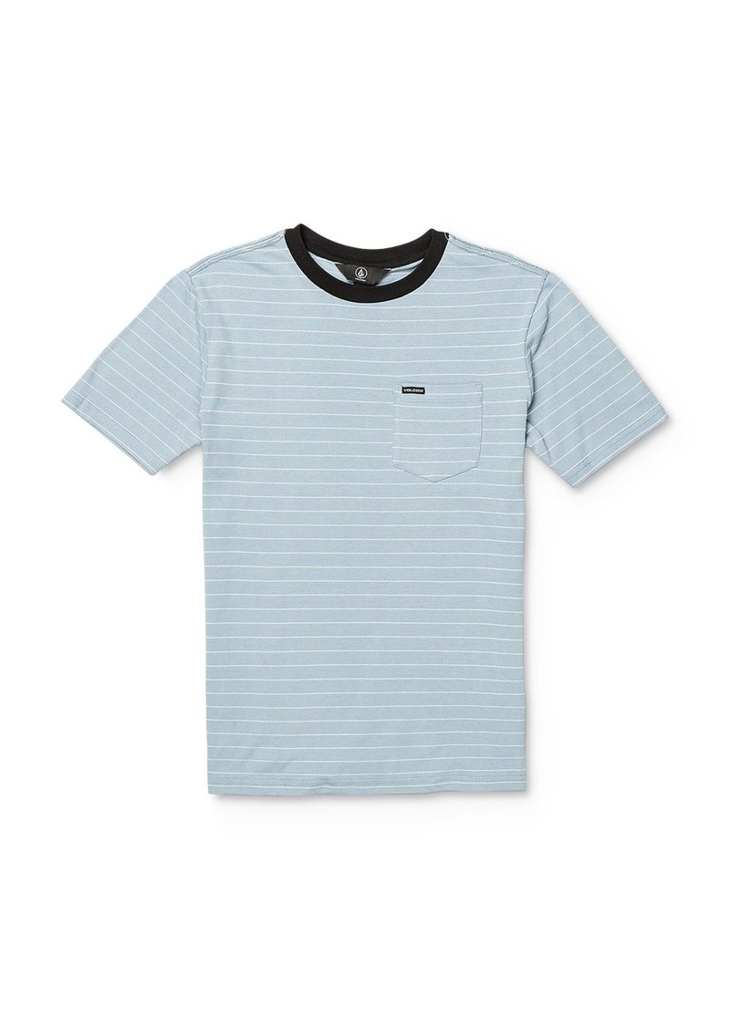Volcom Boys' Storie Striped Tee - Big Kid
