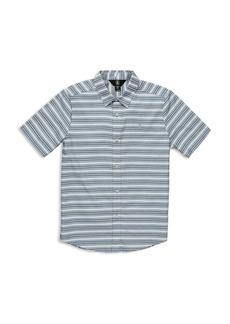 Volcom Boys' Striped Vert Camp Shirt - Big Kid