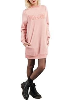 Volcom Burn City Fleece Sweatshirt Dress
