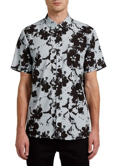 Volcom Burres Floral Short Sleeve Button-Up Shirt