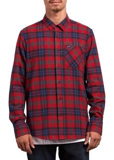Volcom Caden Plaid Flannel Shirt