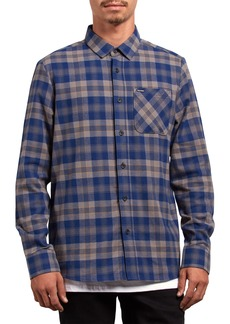 Volcom Caden Plaid Flannel Shirt