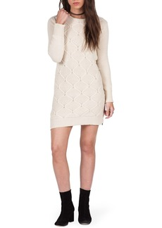 Volcom Chained Down Cable Sweater Dress