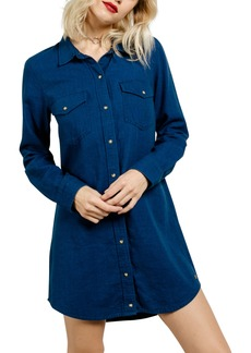 Volcom Cham Jam Chambray Shirtdress